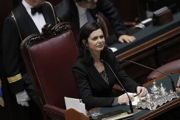 Discorso Camera Boldrini : Nuovo parlamento. il testo del discorso di laura boldrini